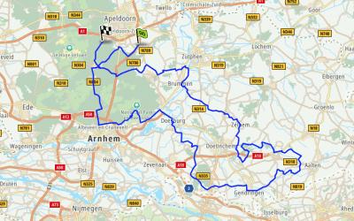 20 juni 2020 | Route vanuit Apeldoorn