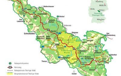 3 – 6 juni 2021 | Treffen in het Thüringer Wald-Rennsteig
